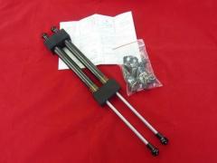 ARJ ボンネットダンパー アルファード30系H27/1〜ブラックカーボンタイプ 品番:BD-T010B